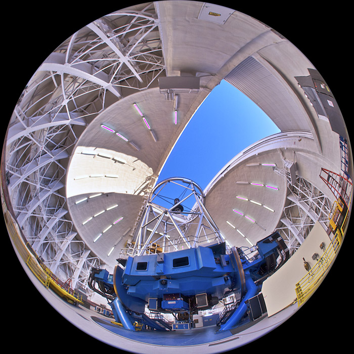 The Gemini Telescope in Hawaii.