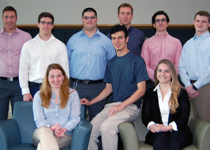 Nine students in YSU's Williamson College of Business Administration are working internships across Ohio this summer as part of the Ohio Export Internship Program.
