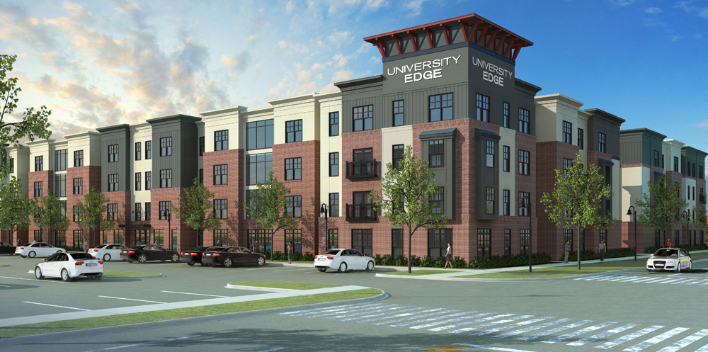 Construction starts on student apartments | YSU News Center