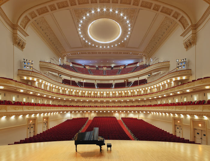 The YSU WInd Ensemble performs in New York's historic Carnegie Hall on Nov. 27.