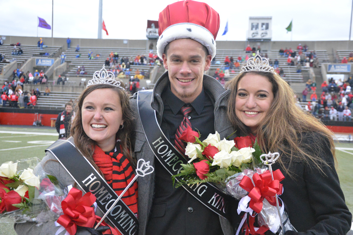 homecoming king and queens