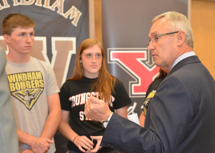 President Tressel at Windham