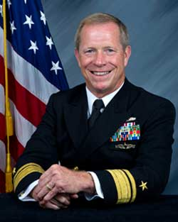 Rear Admiral Jonathan White