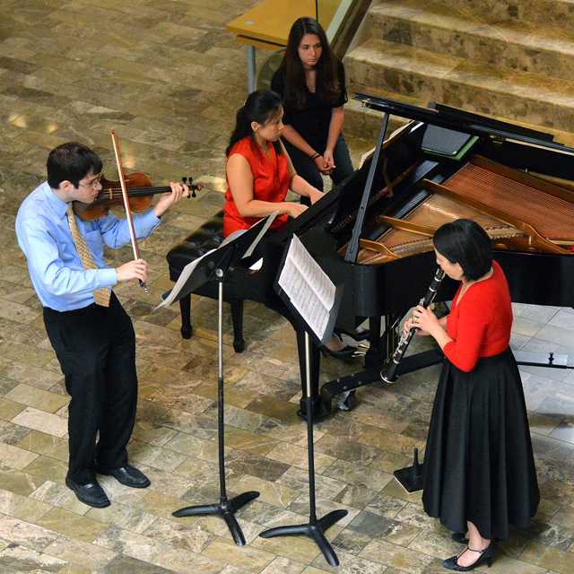 Free Music at Noon concerts are at 12:15 p.m. Wednesdays in the Butler Institute of American Art.