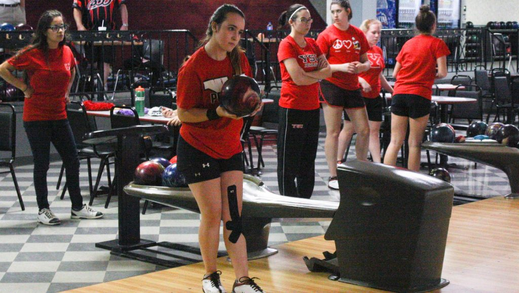 The YSU women's bowling team held the first official practice in program history this week at Holiday Bowl in Struthers.